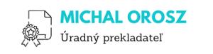 uradny preklad kosice, uradny prekladatel, michal orosz, uradny preklad anglictina, prekaldatelske sluzby, preklady kosice