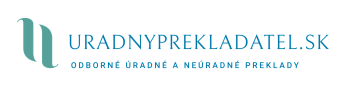 Úradný Prekladateľ Logo